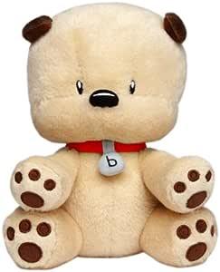 BOOMi + bibop 毛绒bibop小狗 红色项圈 赖嘉晟(Trevor Lai)原创设计 0-19cm