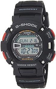 Casio 卡西欧 男式数字手表树脂表带 G-9000-1VER