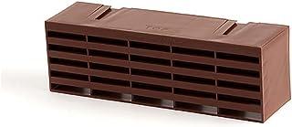 TIMCO 1201ABBR 1201AB 棕色 Timloc 塑料气砖 - 20 个装