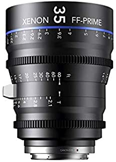 Schneider-Kreuznach 1078481 Cine 镜头,FF-Prime T2.1/35毫米,尼康/米,黑色