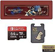 【任天堂许可商品】怪物猎人 microSD卡64GB+卡盒6 for Nintendo Switch【适用于任天堂Switch】
