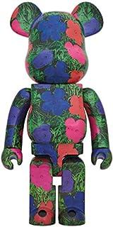 Medicom Toy Bearbrick Warhol Flowers Ver 1000%
