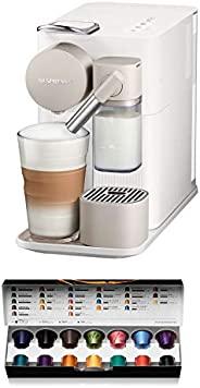 De'Longhi 德龙 Lattissima One,单份胶囊咖啡机 自动打奶泡,卡布奇诺和拿铁,EN500.