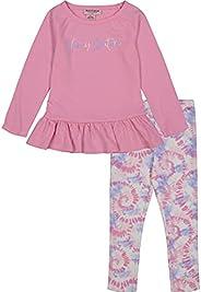 Juicy Couture 橘滋 女童两件套打底裤套装