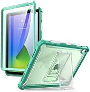 i-Blason Ares 保护套适用于 iPad Air 4 10.9 保护套(2020),全身支架,带内置屏幕保护膜,带笔架(Guldan)