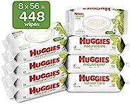 HUGGIES 天然呵护婴儿湿巾 无香型 桶 8 units, 56 Count 448