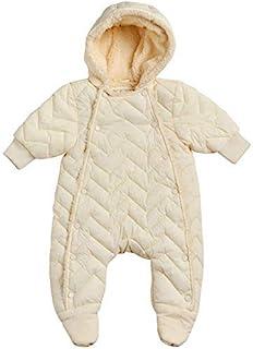 Urban Republic 女婴 婴儿车 防雪服 全羊羔绒衬里 (新生儿) 尺码 6M 奶油色