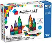 Magna Tiles 100片透明彩色磚片玩具套裝