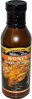 Walden Farms 无卡路里烧烤酱蜂蜜 -- 12 液体盎司(约 354.9 毫升) - 2 件装