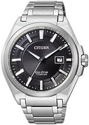 Citizen Herren-Uhren Rund Analog Quarz/Eco Drive Titan 32001474