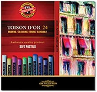 Koh-I-Noor toison D'Or 8514柔软艺术家 - pastellkreiden (24件套)