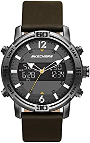 Skechers 斯凯奇 男式石英轻质模拟数字手表