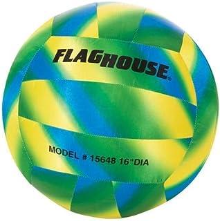 FlagHouse - 大型排球 - 防水 - 柔软 - 运动训练 - 16 英寸