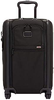 TUMI - Alpha 3 可擴展國際 4 輪便攜行李箱 - 22 英寸滾動旅行箱男女適用 黑色 One_Size