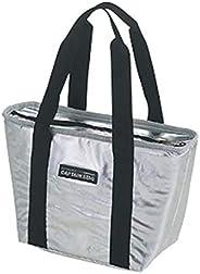 キャプテンスタッグ 烧烤郊游用手提包保冷袋冰袋包印花松鼠银色 M - 1856