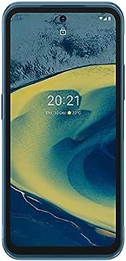 Nokia 诺基亚 XR20 5G   Android 11   解锁智能手机   双 SIM 卡   美国版   6/128GB   6.67 英寸屏幕   48MP 双摄像头   Polar Night