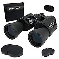 Celestron 星特朗 UpClose G2 10x50 Porro双筒望远镜,带多层镀膜BK-7棱镜玻璃–防水双筒望远镜,橡胶外层和防滑人体工程学机身,适合体育赛事