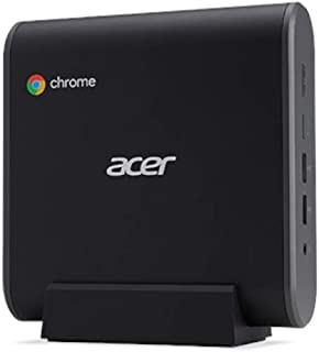 Acer 宏碁 Chromebox CXI3 Mini PC,1 x Celeron 赛扬 3867U / 1.8 GHz,4 GB 内存,32 GB 固态硬盘,高清显卡610,GigE,WLAN-LAN:802.11a/b/g/n/ac,蓝牙...