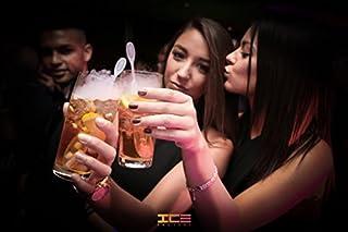 ICLE:10 片装饮料料搅拌棒,使用干冰在鸡尾*会和非*精饮料上产生*熏效果