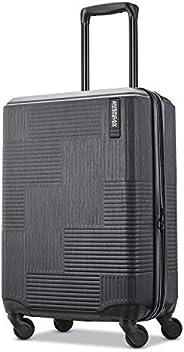 American Tourister Stratum XLT 50.8 厘米可扩展硬边拉杆箱 乌黑色 均码
