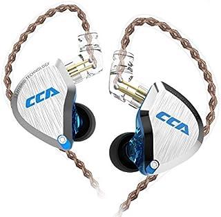 CCA C12 有线 HiFi 耳塞耳机 5BA 1DD 混合入耳式耳机降噪低音耳机人体工程学设计 适合音乐家发烧友歌手