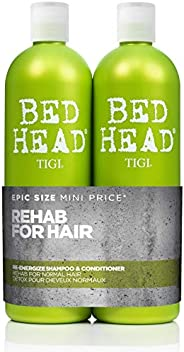 BED HEAD by TIGI Urban Antidotes Re-energizeTM Tween Duo Daily Shampoo & conditioner for Normal Hair - 750
