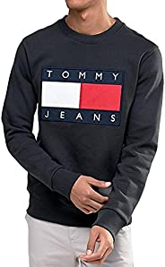 Tommy Jeans 男士运动衫 尺码XXL,黑色