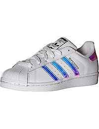 adidas Originals Unisex-Kinder Superstar Sneaker, Cloud White Real Pink Real Pink, 36 EU