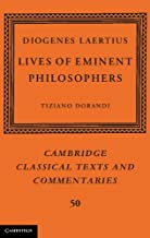 Diogenes Laertius: Lives of Eminent Philosophers (Cambridge Classical Texts and Commentaries Book 50) (English Edition)