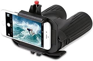 Snapzoom 通用数字转换适配器,适用于 iPhone 和 Android 智能手机。 与双筒望远镜微镜射镜和望远镜兼容。