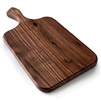 Brazos 小型*木切菜板,用于盛放水果、蔬菜或肉類和巧克力盤 Medium 13.5 x 7 x .75