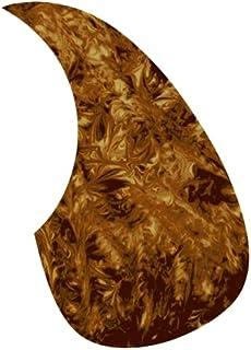 Golden Gate F-4012 泪珠形原声吉他拾音器 - 斑驳玳瑁色