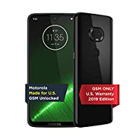 Moto G7 Plus | 无锁 | 摩托罗拉 | 4/64GB | 16MP 相机 | 2019 | 黑色