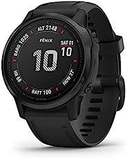 Garmin 佳明 Fenix 高级多运动 GPS 手表010-02159-13 6S Pro 6S Pro - Black