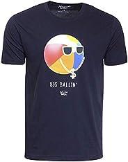 Original Penguin 男式短袖图案 T 恤