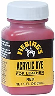 Fiebing's Acrylic Leather Dye - 2 Ounces 白色 2 盎司