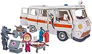 SIMBA 109309863 Masha and Michka 救护车,白色