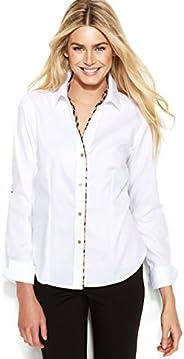Calvin Klein Women's Non Iron Shirting T