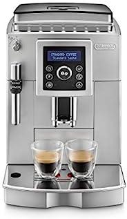 De'Longhi 德龙 ECAM 23.420.SW 全自动咖啡机(数字显示屏 专业起泡喷嘴 圆锥研磨机13级 可拆卸冲泡组 2杯功能)银