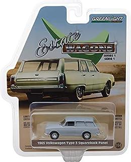 Greenlight 29910-C Estate Wagons 系列 1 - V-Dub Type 3 面板货车 - 浅灰色 1:64 比例