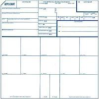 指紋卡,適用 FD-258,25 包