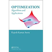 Optimization: Algorithms and Applications (English Edition)