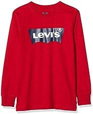 Levi's 李维斯 男童 Lvb L/S 蝙蝠翼 T 恤长袖