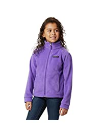 Columbia 女童羊毛外套夹克 Grape Gum X-Large