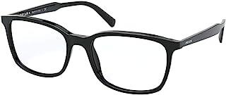 Prada PRADA ConcepPTUAL PR 13XV 黑色 55/18/145 男式眼镜框架
