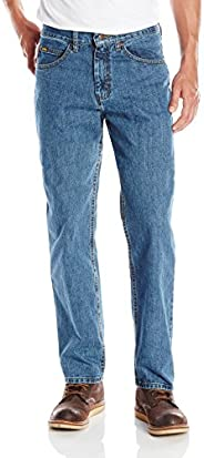 Lee Men's Relaxed Fit Straight Leg Jean, Newman, 42W x