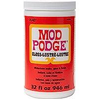 MOD podge waterbase 封口机胶水和表面处理 ( 907.2gram )  cs11203光泽表面