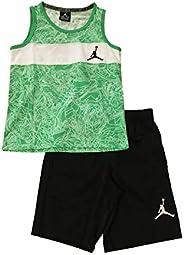 Jordan 男童背心和短裤套装 浅* 多种尺码 7