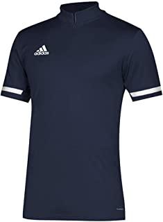 adidas 阿迪达斯 Team 19 短袖四分之一拉链上衣 - 男式多种运动
