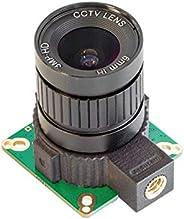 Arducam 12.3MP IMX477 HQ 相机模块,带 6mm CS 镜头和尖头支架,适用于 Nvidia Jetson Nano/Xavier NX 和 Raspberry Pi 计算模块